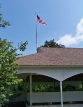 Old Glory at the Pavilion